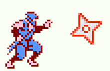 Ninja Gaiden Throwing Star Cookies