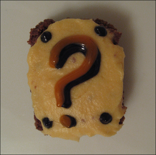 Question Block Brownies