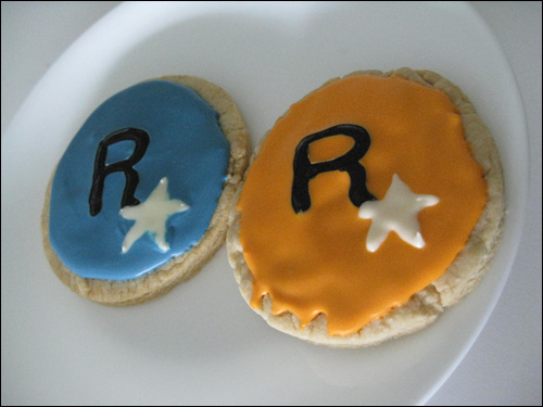 GTA IV Sugar Cookies