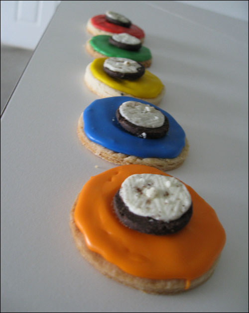 Guitar Hero Cookies