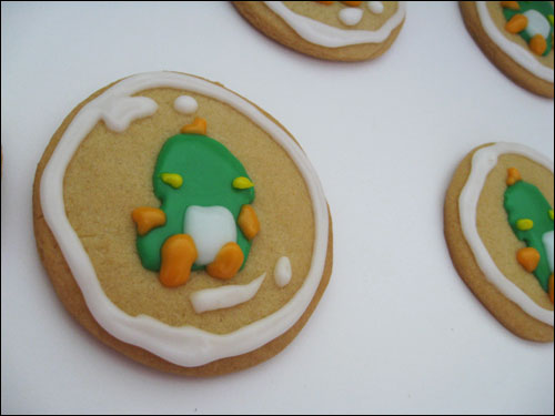 Bubble Bobble Sugar Cookies