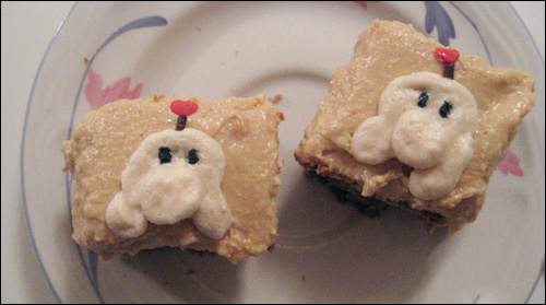 Earthbound Peanut (Cream) Cheese Bars