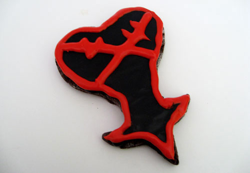 Kingdom Hearts Heartless Cookies